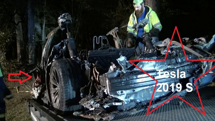 عاجل.. رجلان يفقدان حيتهما والسبب تقني في سيارة تسلا