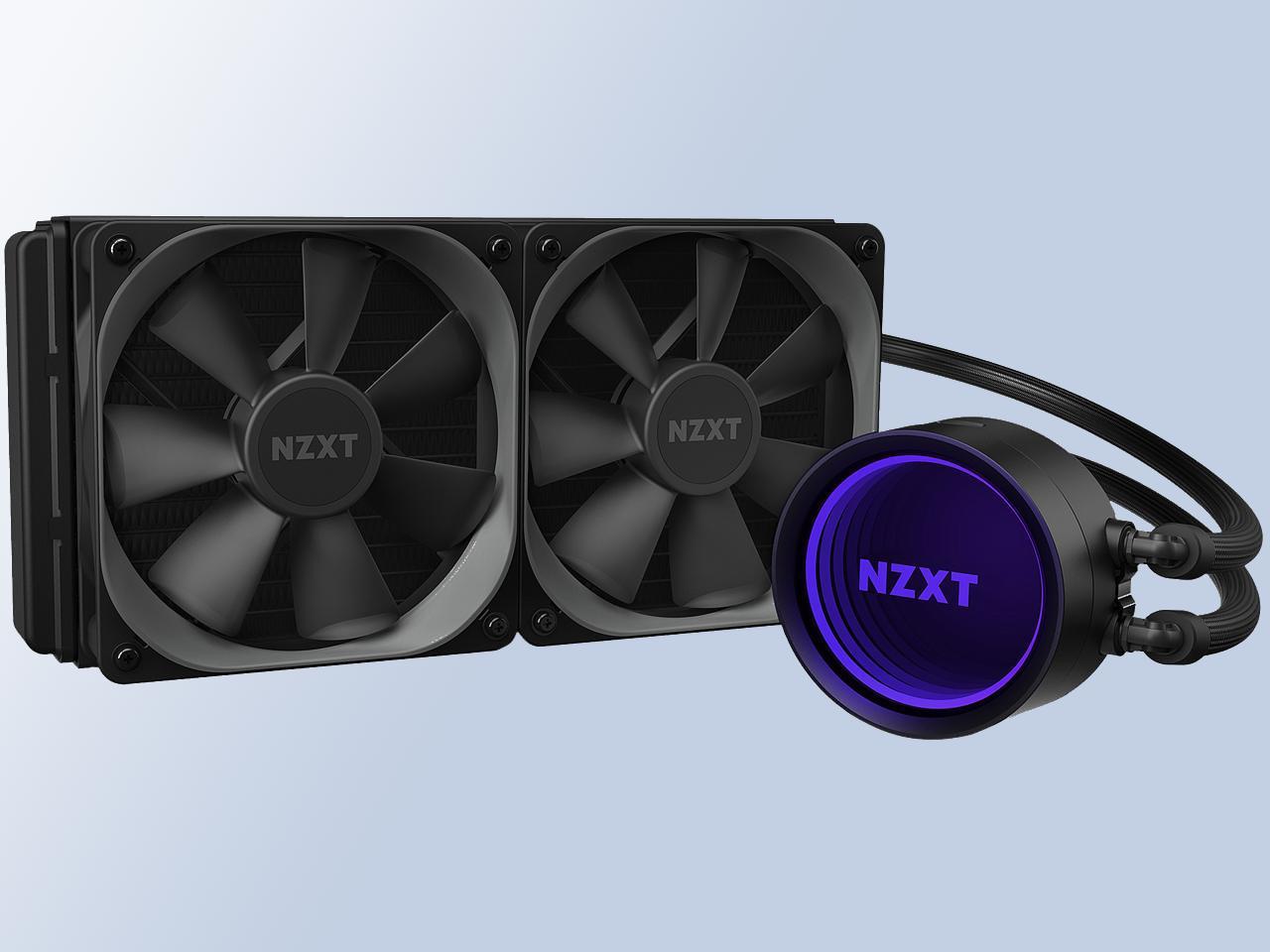 المبرد المائي ألأقوى للكمبيوتر من NZXT...