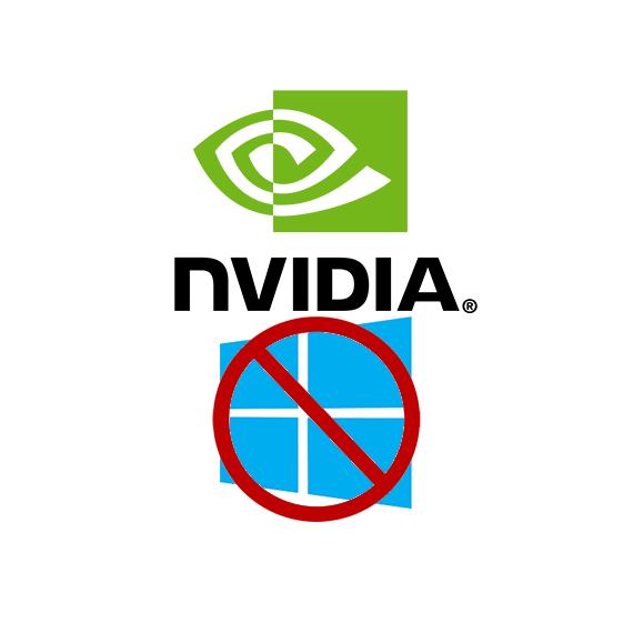 انفيديا توقف جميع التحديثات الخاصة بكروتها على ويندوز!!!