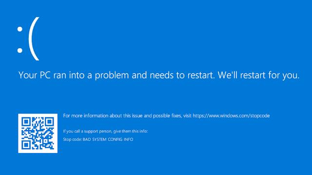 طريقة حل مشكلة الشاشة الزرقاء في ويندوز 10...