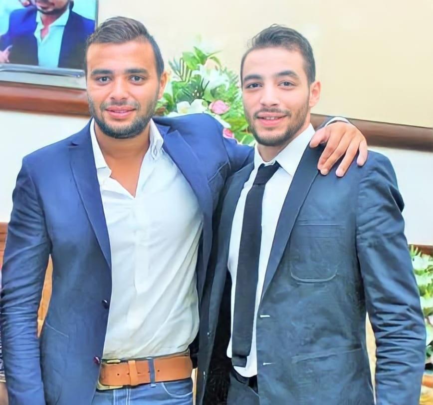 ألفنان رامي صبري يزيل ألستار عن أول ديو له مع شقيقه ألمتوفى بعنوان حالة أكتئاب...