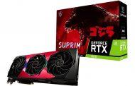 MSI تزيل الستار عن كرت  MSI GeForce RTX SUPRIM SE GODZILLA...