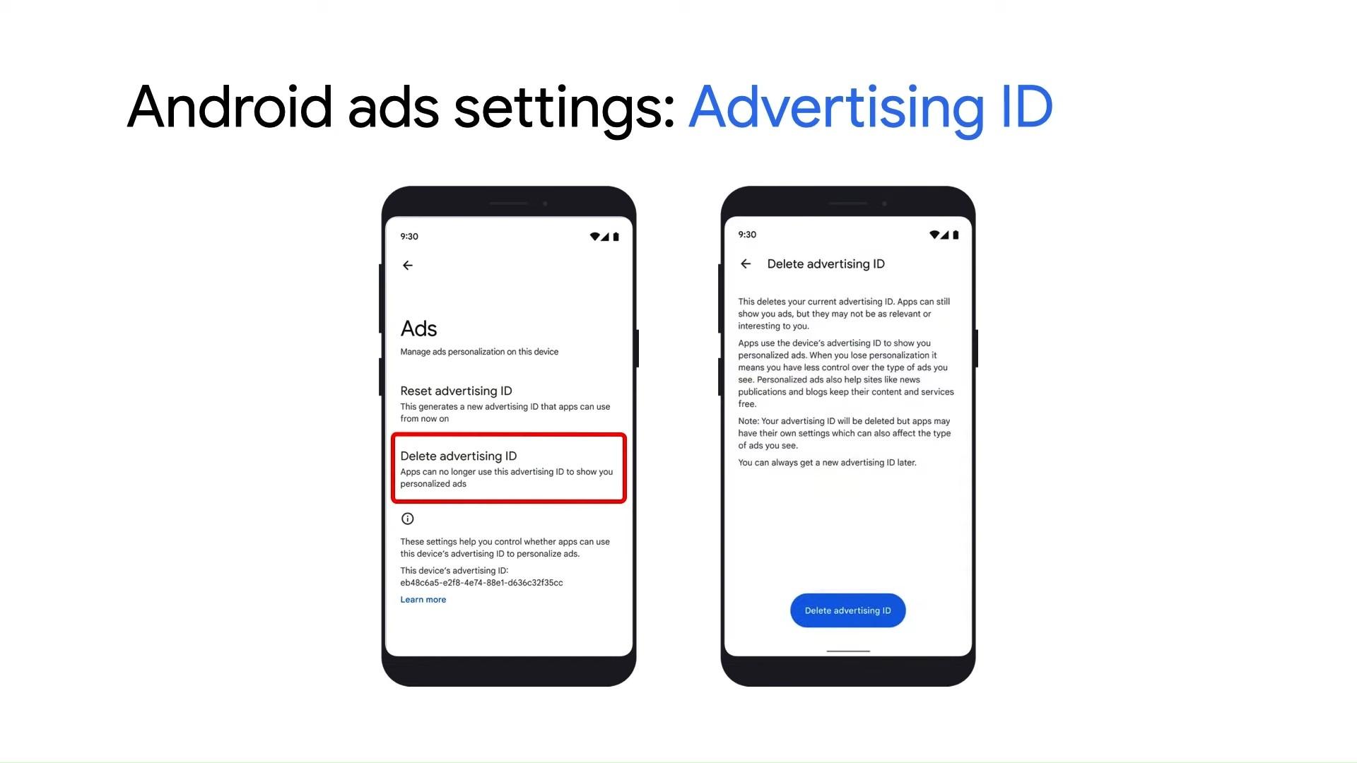 جوجل تتيح للمستخدمين حذف ألأعلانات ألخاصة بهم...