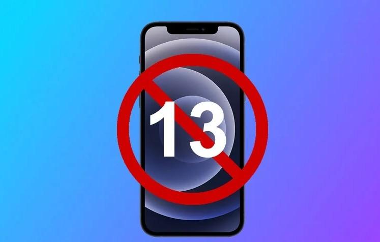 لماذا ابل لا تريد تسمية الهاتف بالرقم 13 و هل هو نذير شؤم...