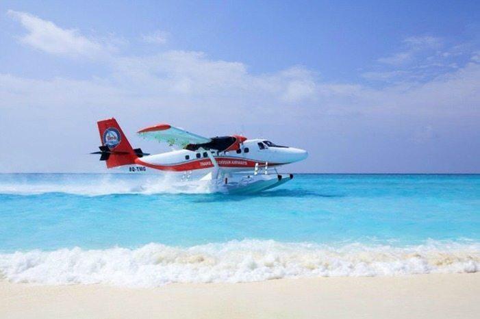 طائرة مائية تقطع ألمسافة بين مدينتي دبي و أبو ظبي في أقل من نصف ساعة!