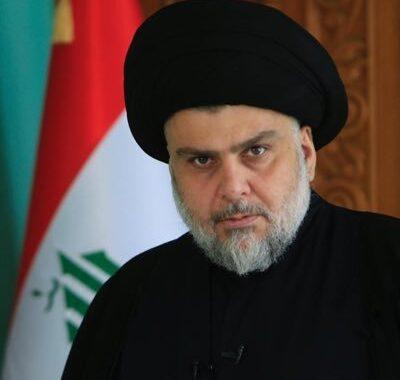 السيد مقتدى الصدر : عيب على كل واحد يريد زعزعة امن العراق
