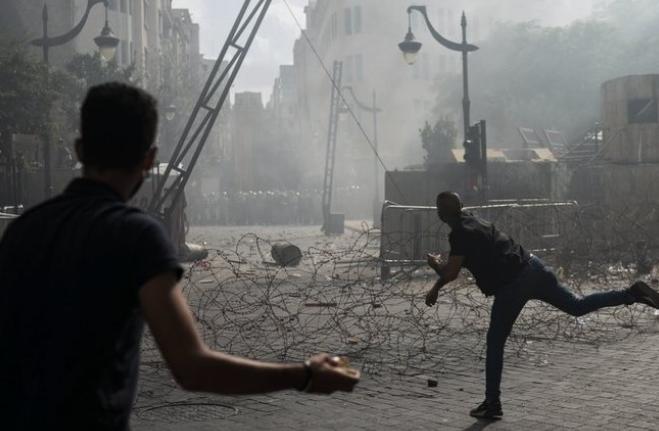 عاجل : قتلى و جرحى بسبب أعمال عنف ببيروت