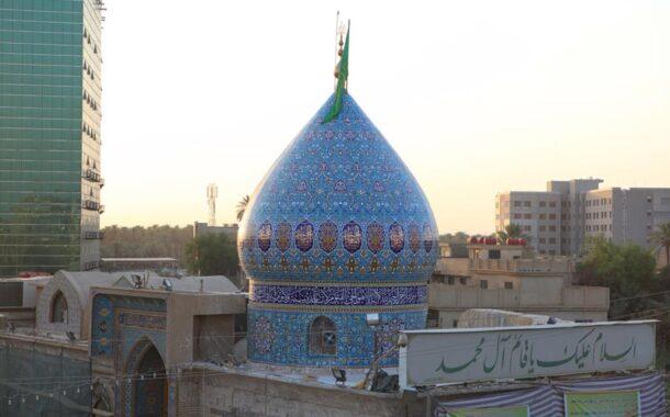 ألقت شرطة الخضر القبض على رجل سرق مقام الإمام