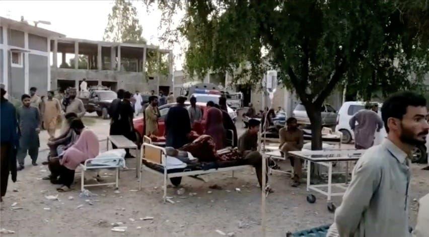 عاجل : قتلى و جرحى في زلزال عنيف يضرب باكستان...