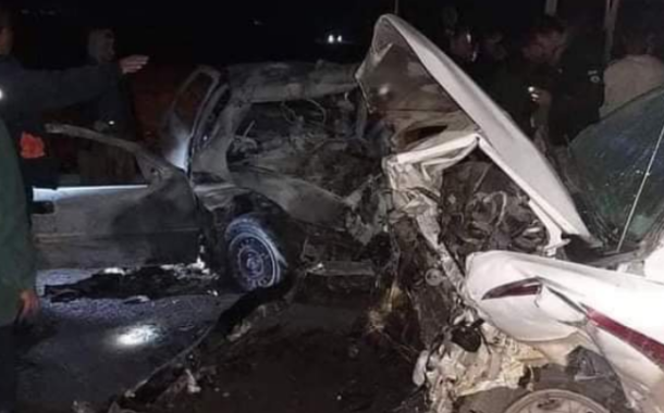 حادث سير: مقتل واصابة 6 اشخاص في كركوك
